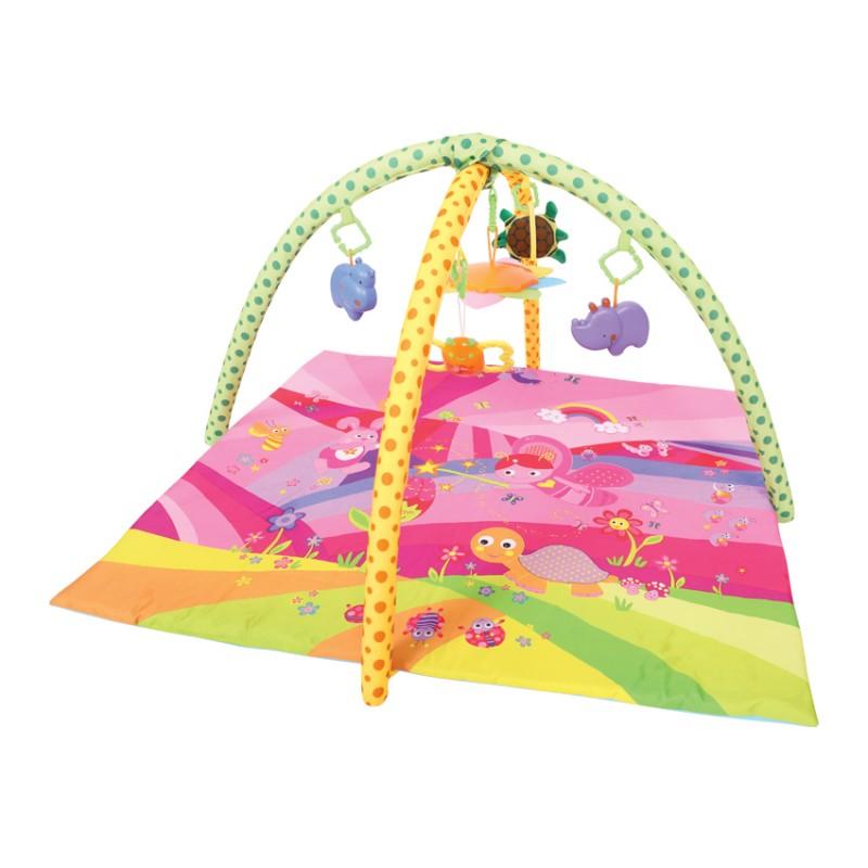 Lorelli Βρεφικό Γυμναστήριο Playmat Fairy Tales Pink