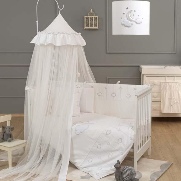 Κουνουπιέρα Romantica Luna Chic Funna Baby home   away   λευκά είδη βρεφικά   κουνουπιέρες