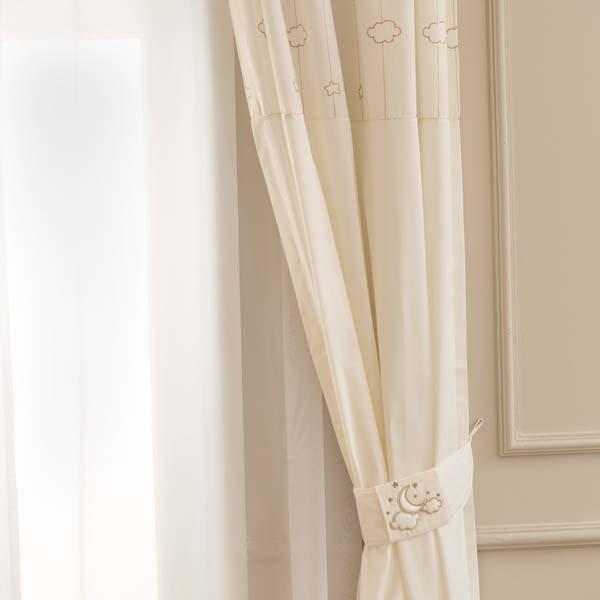 Κουρτίνα Luna Elegant Funna Baby home   away   λευκά είδη βρεφικά   κουρτίνες