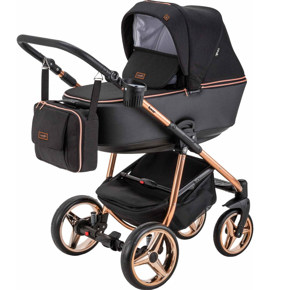 Πολυκαρότσι Luxor Special Edition Y302 Cooper 3 σε 1 ( Πόρτ Μπεμπέ + κάθισμα αυτοκινήτου) Carello