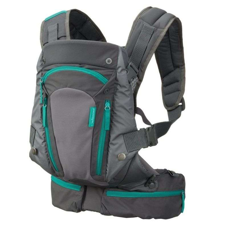 Μάρσιπος Carry On Multi Pocket Carrier Grey Infantino
