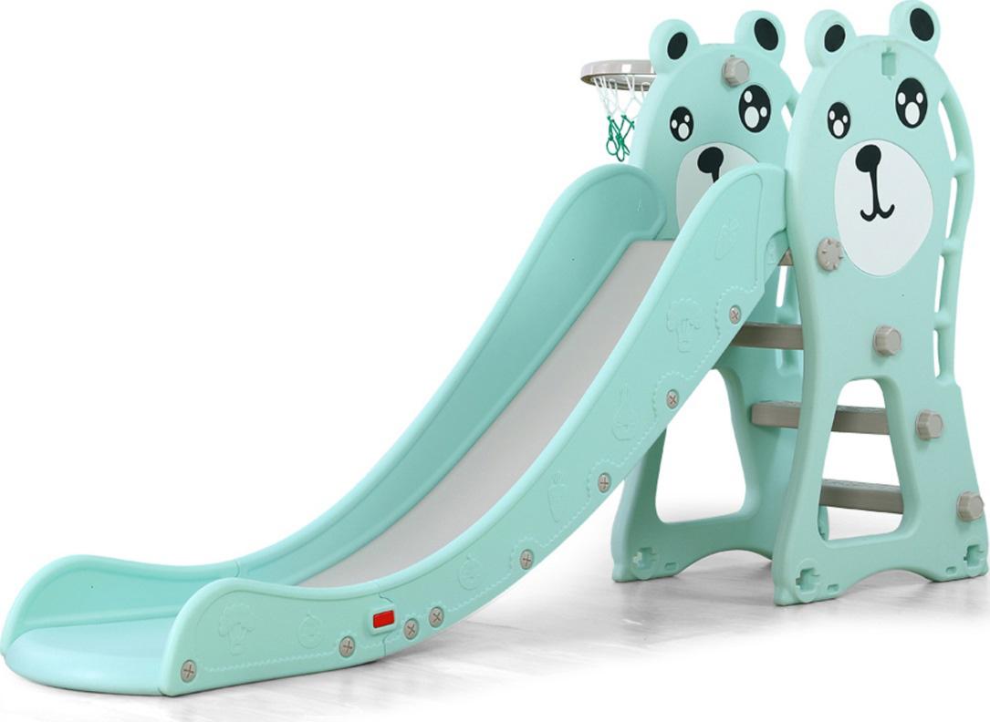 Moni Παιδική Τσουλήθρα με Μπασκέτα Slide Pooh Blue - 18024