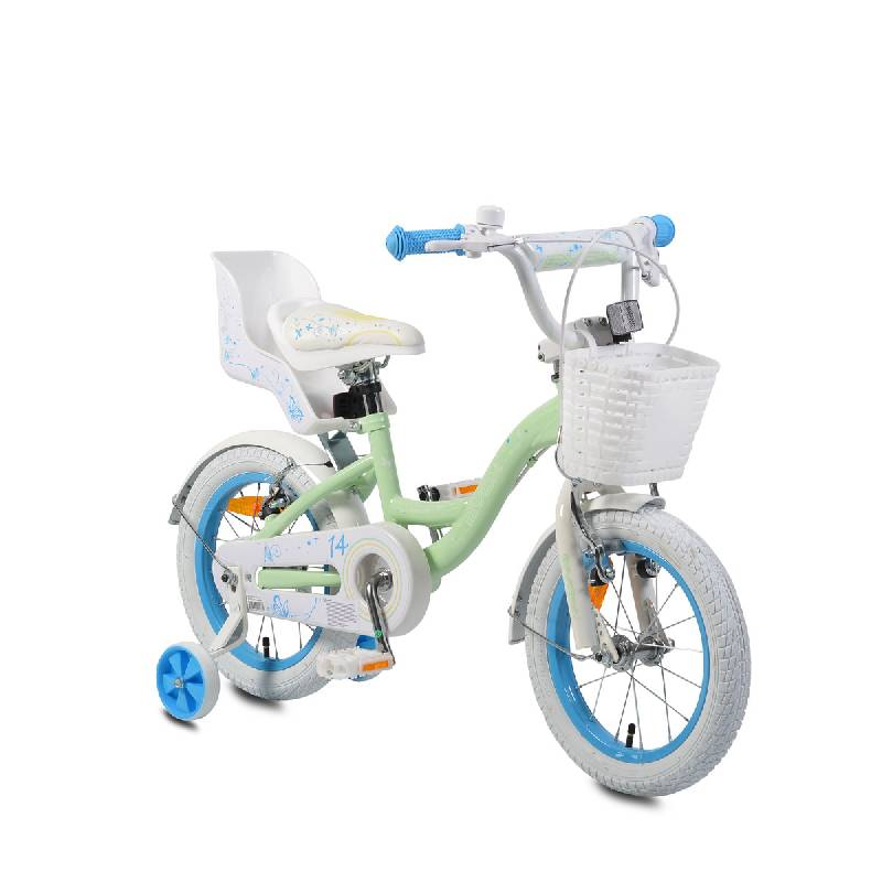 Moni Παιδικό ποδήλατο 14' Flower turq