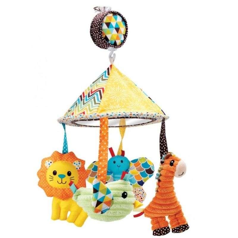 Μουσικό Κρεβατιού Musical Mobile Carousel Infantino