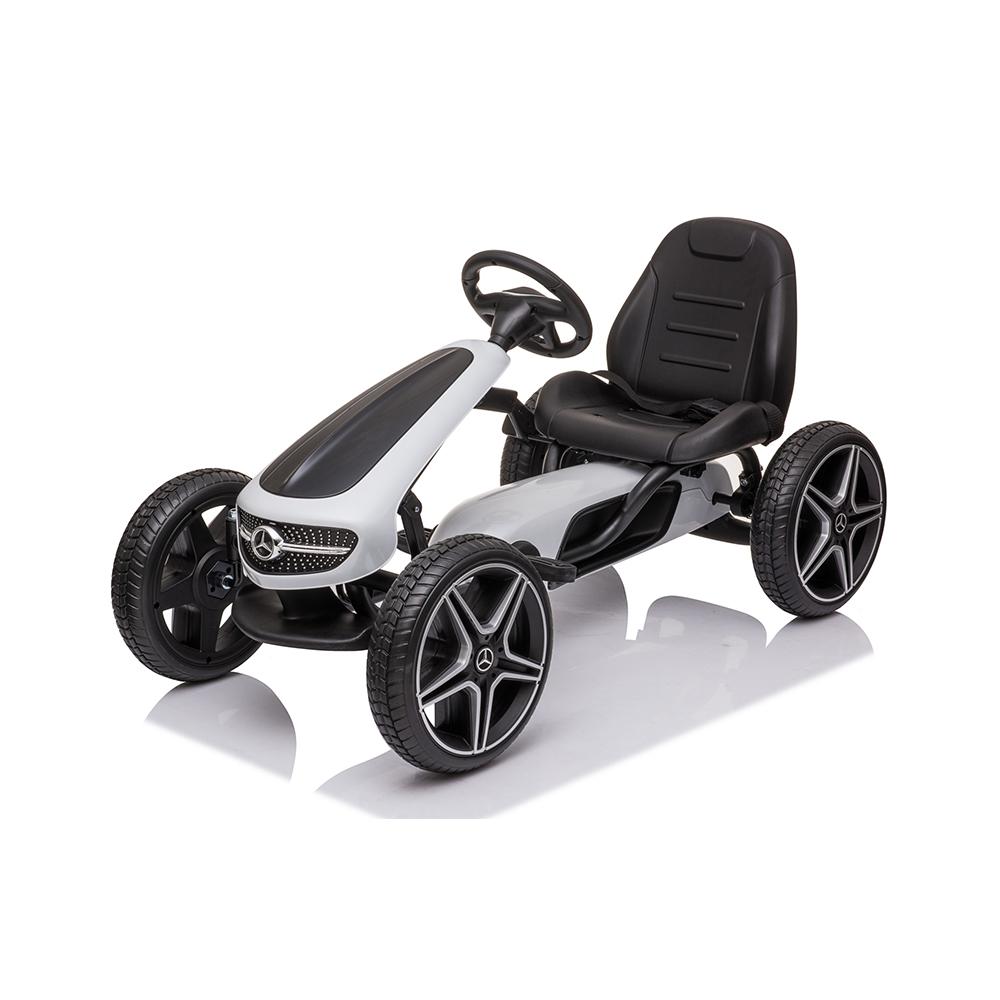 Παιδικό Αυτοκινητάκι Go Kart με πετάλια Mercedes-Benz EVA Moni