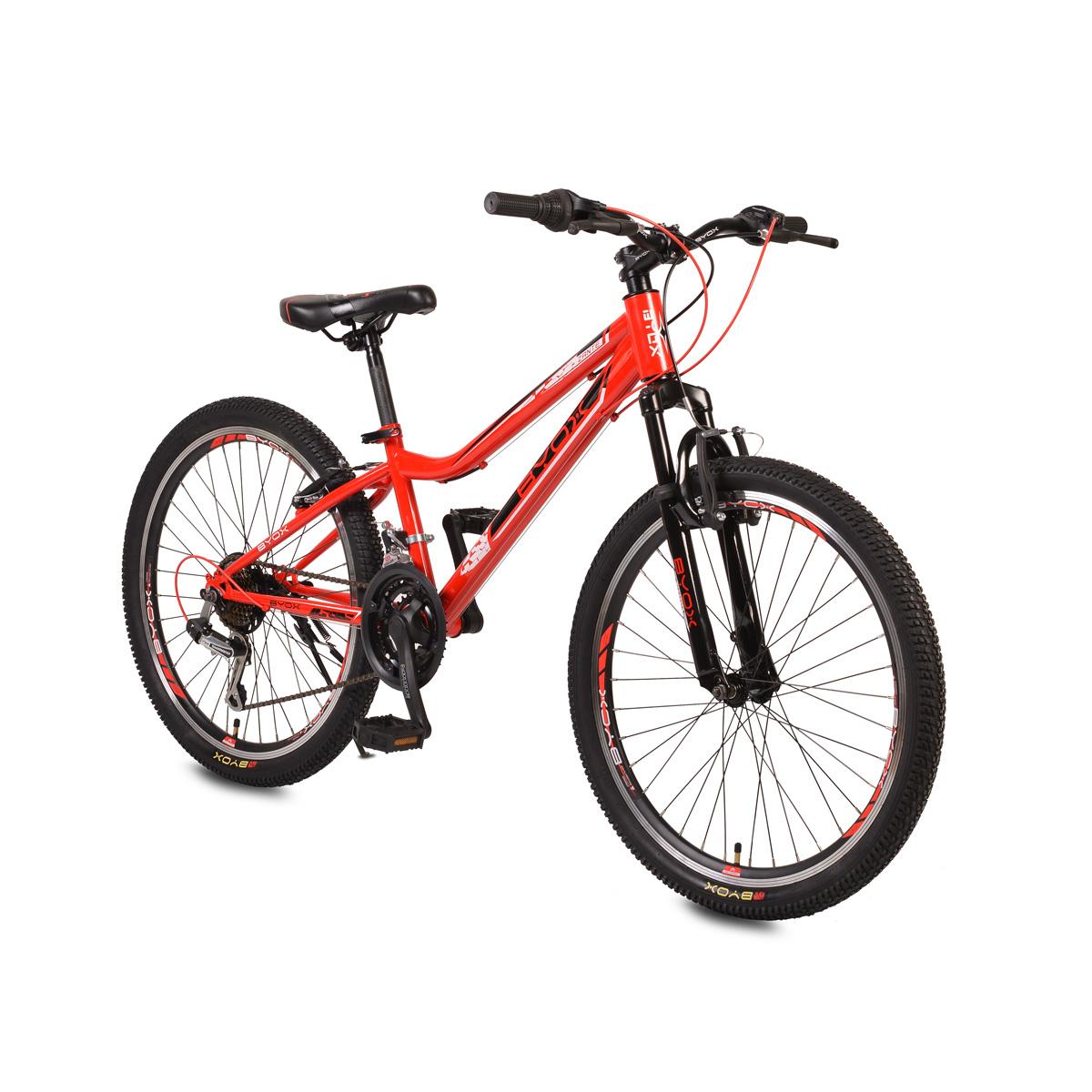 Παιδικό Ποδήλατο 24' Zante Red Byox