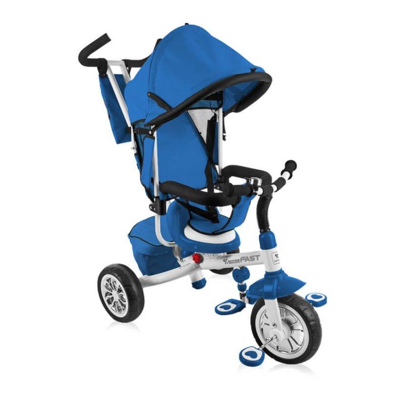 Παιδικό Ποδηλατάκι Τρίκυκλο Lorelli B302A Blue White