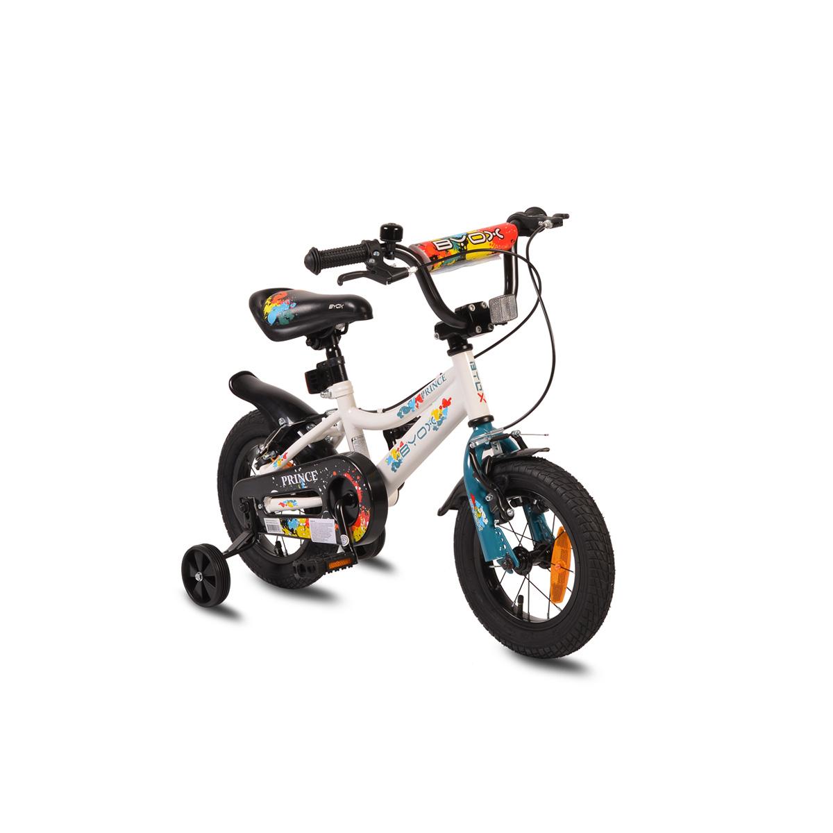 """Ποδήλατο Παιδικό Prince 12"""" White New Byox"""
