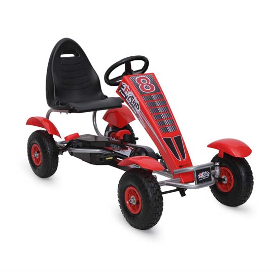 Παιδικό Αυτοκινητάκι με πετάλια Go Kart F8 Full Ahead TR6608 Red Cangaroo