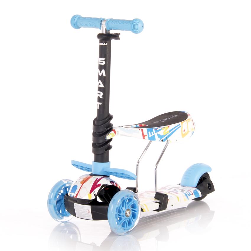 Πατίνι Smart Scooter με κάθισμα Tracery Blue Lorelli