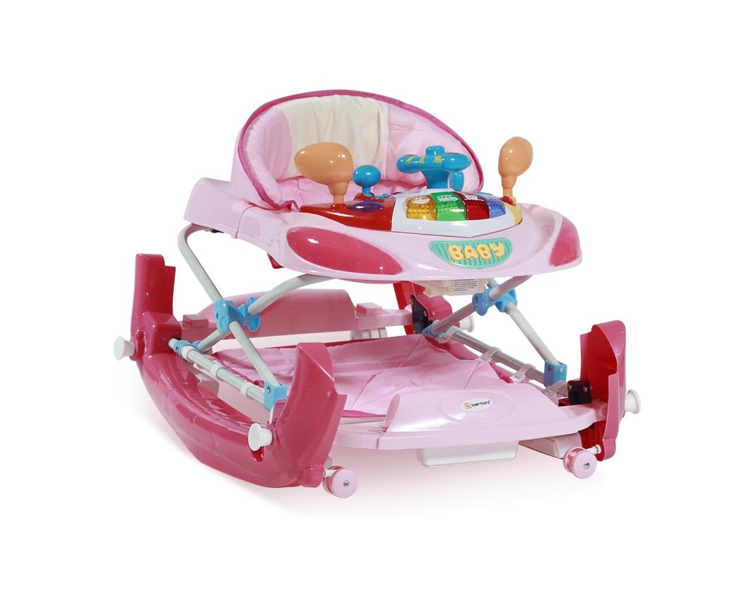 Lorelli Στράτα Περπατούρα Κούνια W1224CE Pink