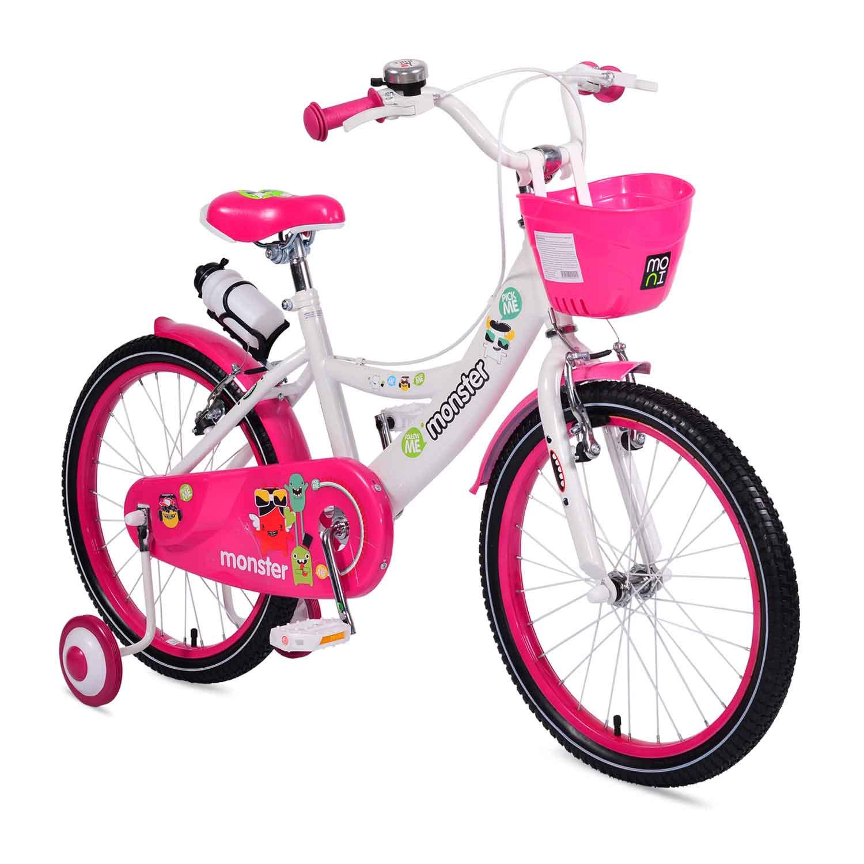 """Παιδικό Ποδήλατο Monster 2081 20"""" Pink Cangaroo"""