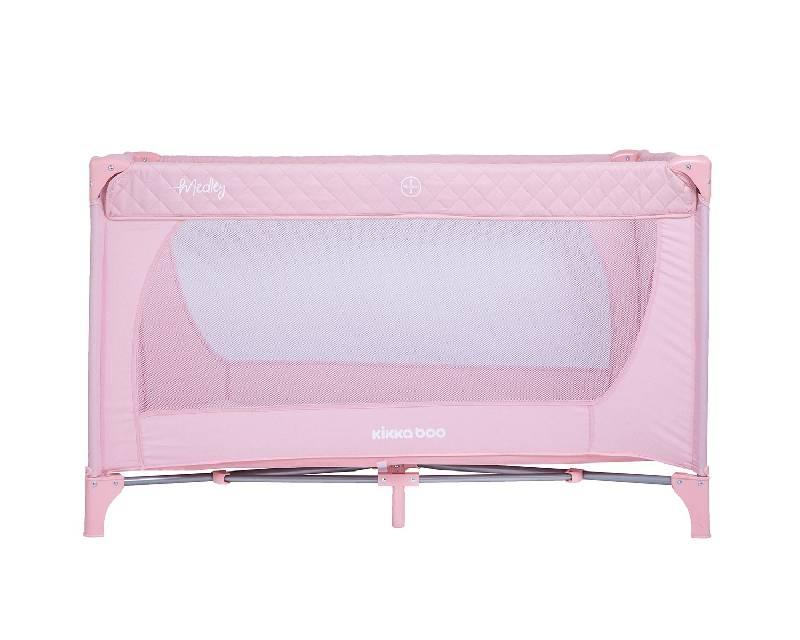 Παρκοκρέβατο Medley 1 level Pink Kikka Boo