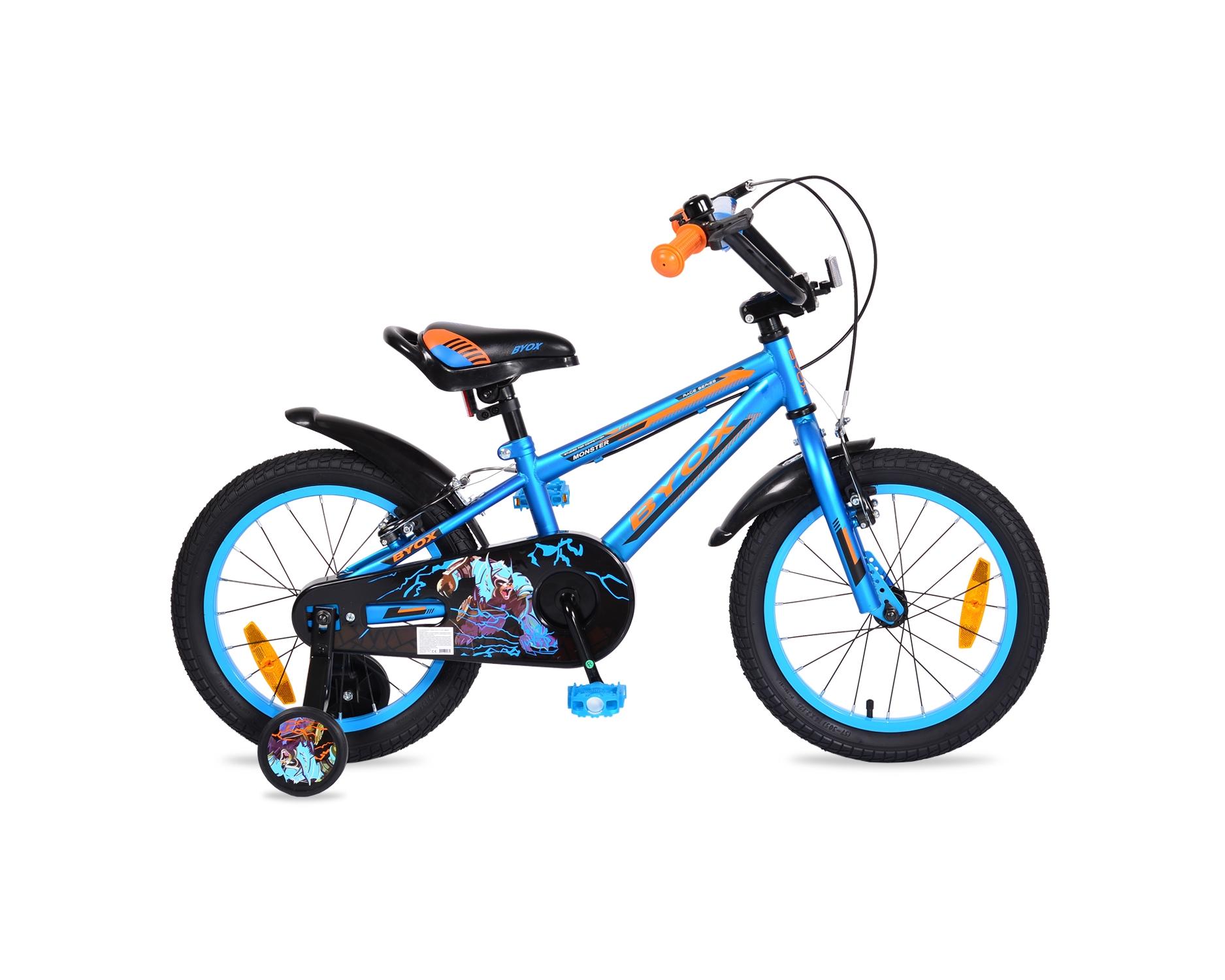 Ποδήλατο Monster Παιδικό 16'' Blue Byox
