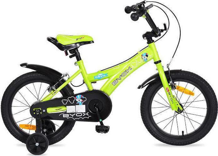 """Παιδικό Ποδήλατο Devil 16"""" Green Byox"""