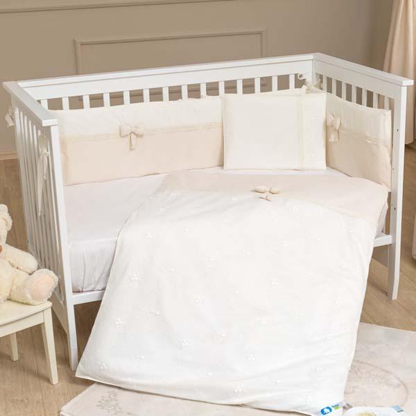 Σετ προίκας μωρού 3 τεμ. Premium Cream Funna Baby home   away   λευκά είδη   λευκά είδη βρεφικά   σέτ προίκας μωρού