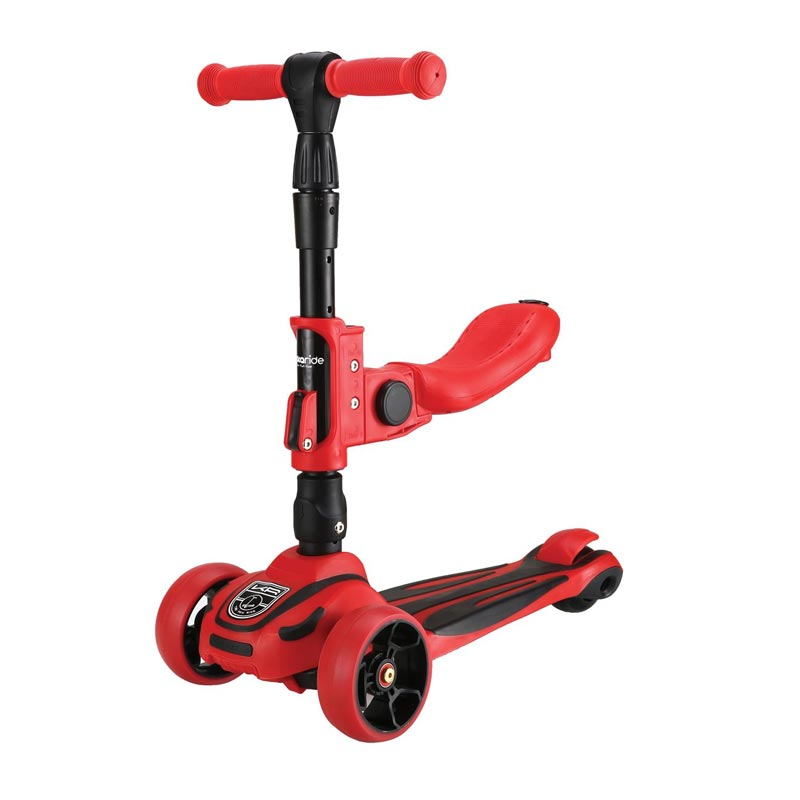 Scooter Roadster 3 σε 1 Red Kikka Boo