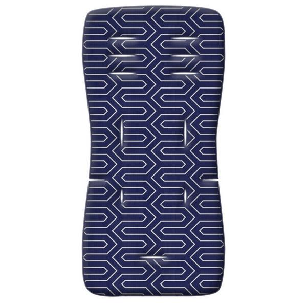Στρωματάκι καροτσιού 3D Fiber Maze μπλε Greco Strom