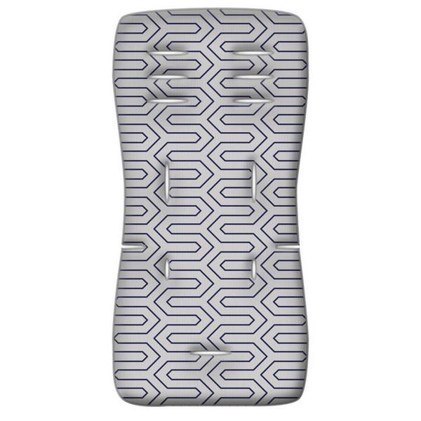 Στρωματάκι καροτσιού 3D Fiber Maze γκρι Greco Strom