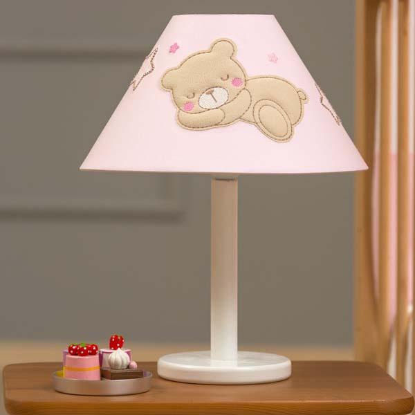 Πορτατίφ Sweet Dreams pink Funna Baby home   away   λευκά είδη   λευκά είδη βρεφικά   φωτιστικά βρεφικά