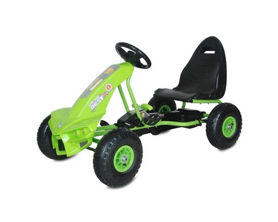Παιδικό Αυτοκινητάκι Go Kart The Best with Air Wheels A-18 Green Cangaroo