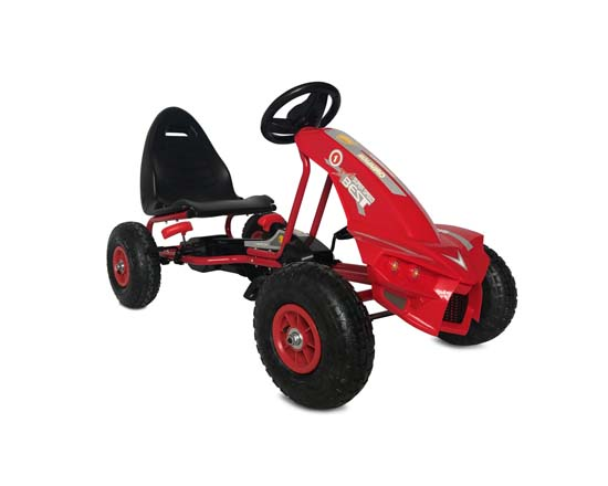 Παιδικό Αυτοκινητάκι Go Kart The Best with Air Wheels A-18 Red Cangaroo βόλτα   ασφάλεια   ποδήλατα   παιδικά  αυτοκινητάκια
