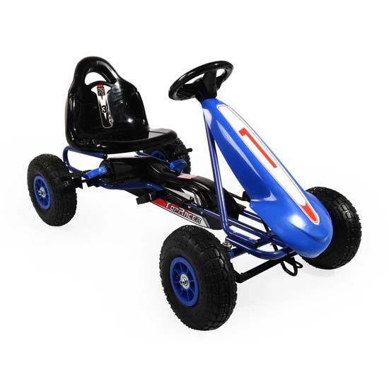 Παιδικό Αυτοκινητάκι Top Racer Pedals Karting PB9288A Blue Cangaroo