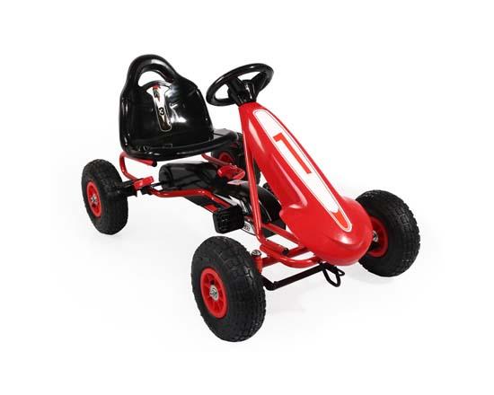Παιδικό Αυτοκινητάκι Top Racer Pedals Karting PB9288A Red Cangaroo