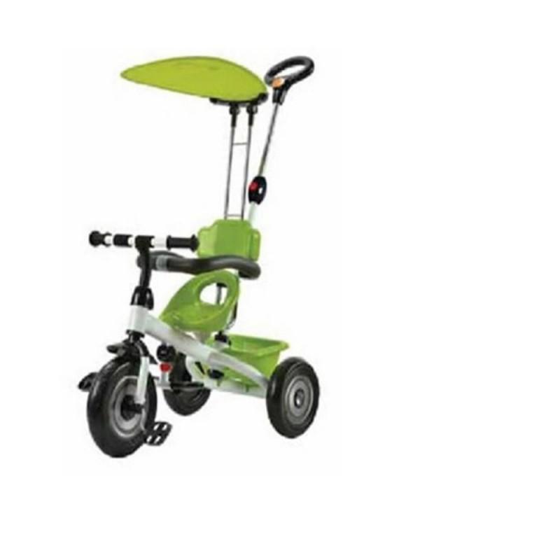 Τρίκυκλο ποδηλατάκι Tricycle Green Carello βόλτα   ασφάλεια   ποδήλατα   τρίκυκλα ποδήλατα