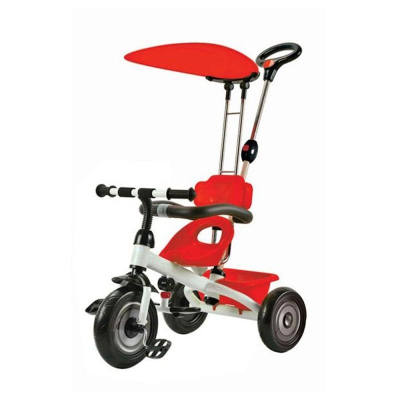Τρίκυκλο ποδηλατάκι Tricycle Red Carello βόλτα   ασφάλεια   ποδήλατα   τρίκυκλα ποδήλατα