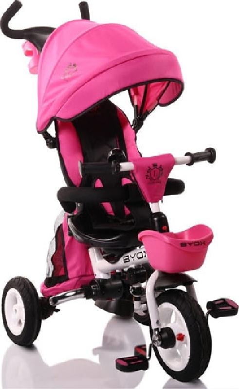 Τρίκυκλο Ποδηλατάκι Flexy Pink Byox