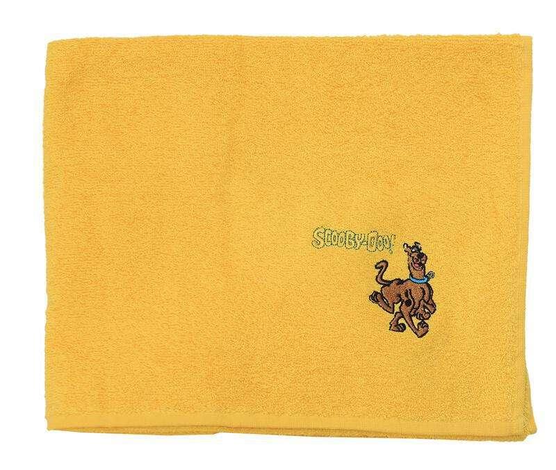 Viopros Παιδικές Πετσέτες Πετσέτα Προσώπου 50X80 Scooby Doo Κίτρινο